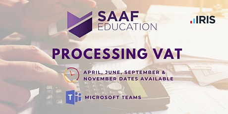 IRIS/ PS Financials: Processing VAT (SAAFW106) Tickets