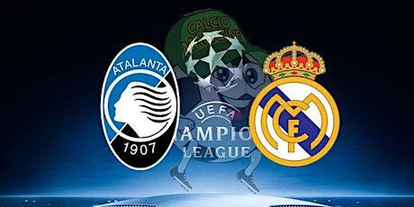 ONLINE@!. R.e.a.l Madrid - Atalanta in. Dirett Live biglietti