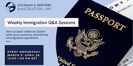 Immigration Q&A Weekly Session with GPI tickets