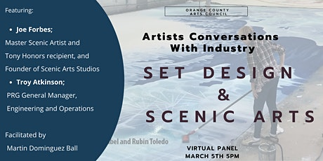 Artists Conversations With Industry- Set Design and Scenic Arts tickets