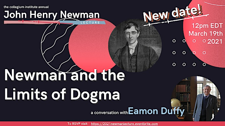 Newman and the Limits of Dogma: A Conversation with Eamon Duffy image