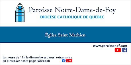 Messe Église Saint-Mathieu - Samedi - 16h (messe enregistrée) billets