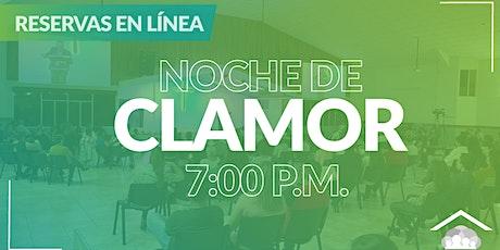 Culto Presencial: Noche de Clamor - Martes/ 02 Marzo / 7:00 pm tickets