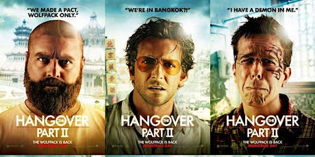 The Big Unlock-  The Hangover 2 - Drive-In Cinema Night tickets
