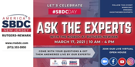 #SBDCDAY: Ask the Experts Virtual Open House tickets
