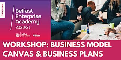 Belfast Enterprise Academy - Business Model Canvas/Business Plan tickets