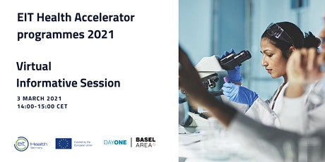 Informative session on EIT Health Accelerator Programmes 2021 tickets