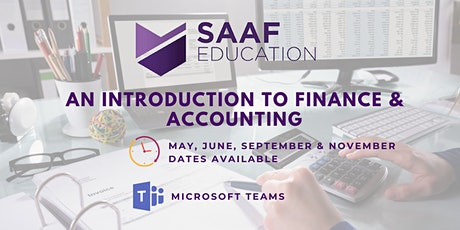 An Introduction to Finance & Accounting (SAAF114) tickets