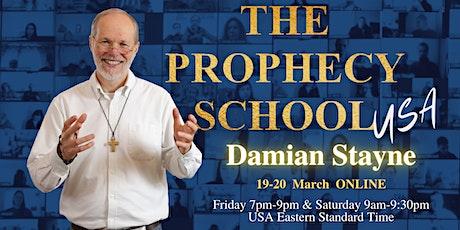The Prophecy School USA Online with Damian Stayne ingressos
