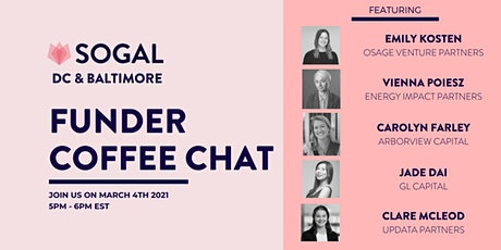 SoGal DC: Funder Coffee Chat tickets