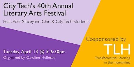 City Tech's 40th Annual Literary Arts Festival tickets