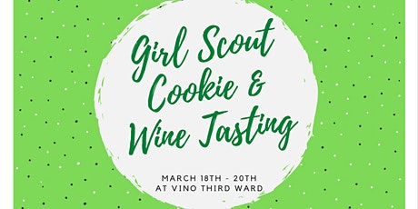 Girl Scout Cookie & Wine Tasting tickets