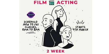 2 Week Acting Workshop tickets