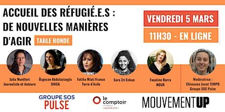 Accueil des réfugié.e.s : de nouvelles manières d'agir billets