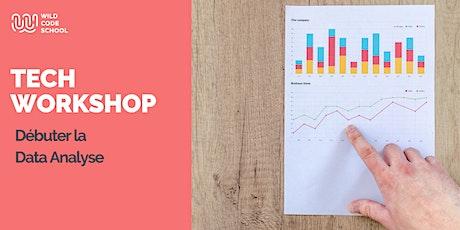 Online Tech Workshop - Débuter la Data Analyse billets