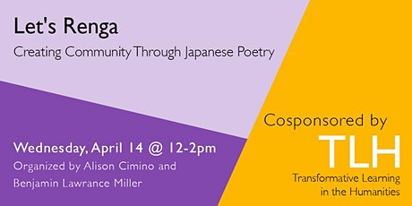 Let's Renga: Creating Community Through Japanese Poetry tickets