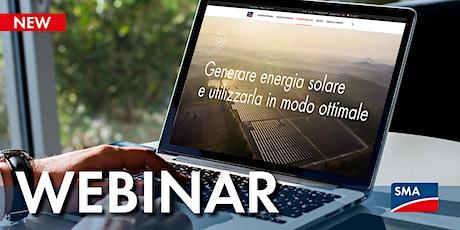 Utility: Impianti Fotovoltaici e Storage Large Scale biglietti
