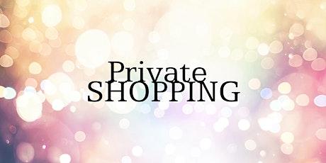 Private Shopping bij Wij2 tickets