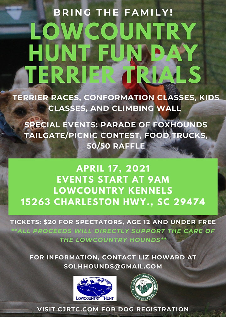 Lowcountry Hunt Fun Day Terrier Trials image