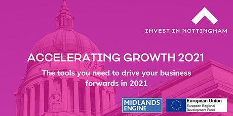 Accelerating Growth 2021 - Finance that Fits tickets