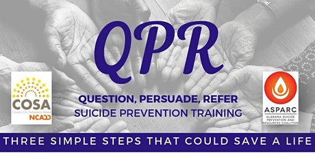 Suicide Prevention Gatekeeper QPR Training tickets