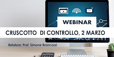 BOOTCAMP CRUSCOTTO DI CONTROLLO, streaming Roma, 2 marzo biglietti