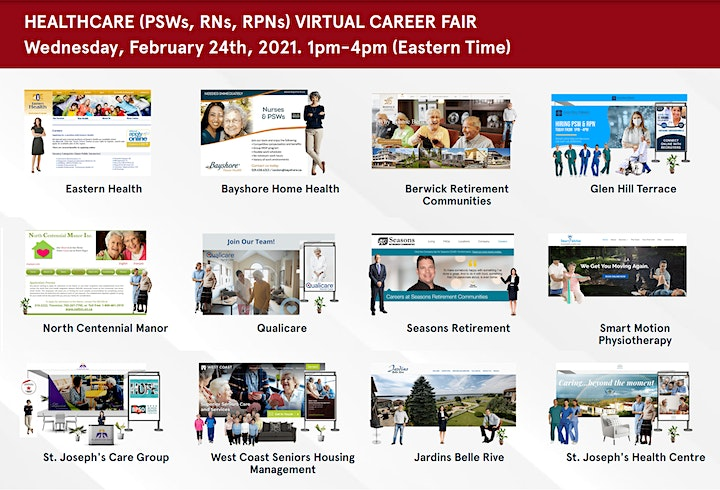 Personal Support Worker Virtual Career Fair - May 5th, 2021 image