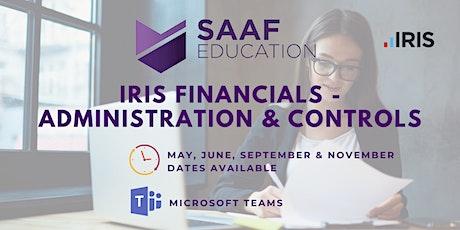 IRIS/ PS Financials – Administration & Controls (SAAF111) tickets