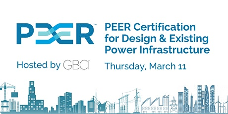 PEER Certification for Design & Existing Power Infrastructure tickets