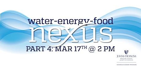 Water-Energy-Food Nexus Part 4 tickets