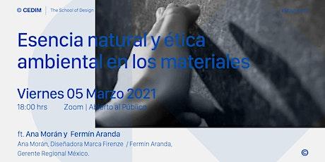 → Esencia natural y ética ambiental en los materiales entradas