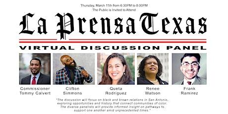 La Prensa Texas Presents Virtual Panel Discussion tickets