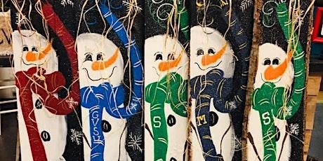 Paint a Wooden Snowman tickets