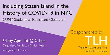 Including Staten Island in the History of COVID-19 in NYC tickets
