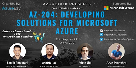 [Webinar] AZ-204: Developing Solutions for Microsoft Azure Free Training tickets