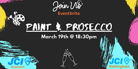PAINT & PROSECCO | WITH JCI Tickets