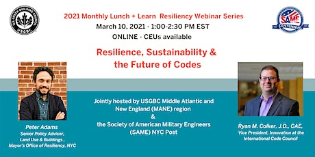 Resilience, Sustainability and the Future of Codes tickets