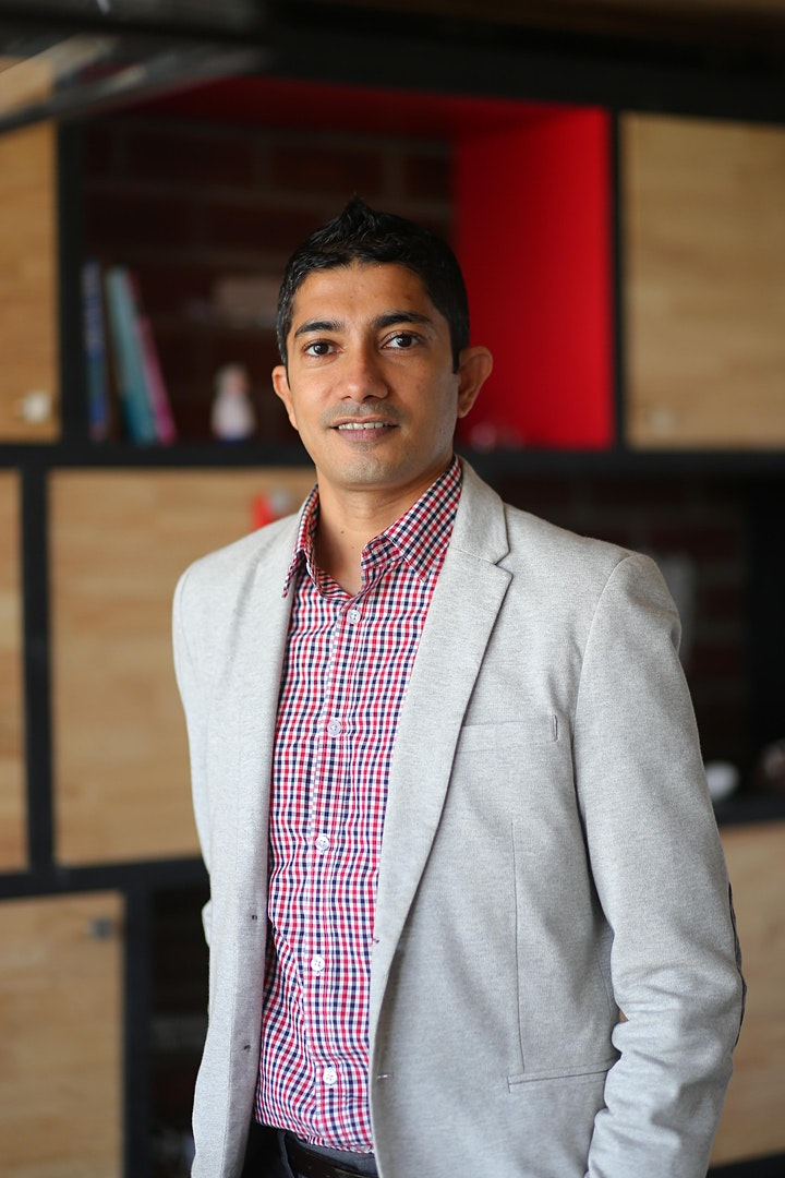 Community Conversations with Accelerator Centre CEO Jay Krishnan image