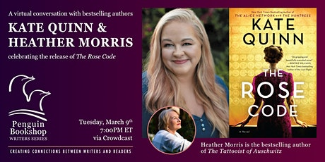 A Conversation with Kate Quinn & Heather Morris tickets