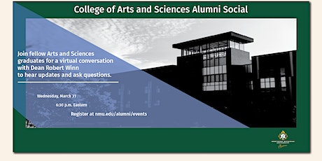College of Arts and Sciences Alumni Social tickets