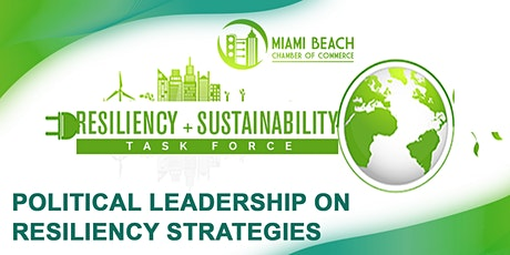 POLITICAL LEADERSHIP ON RESILIENCY STRATEGIES tickets