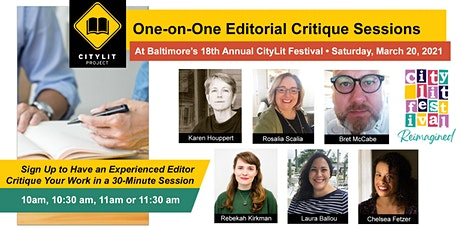 One-on-One Editorial Critique Sessions tickets