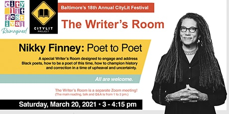 The Writer's Room: Poet to Poet with Nikky Finney tickets