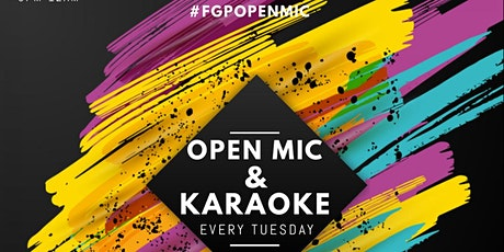 FGP OPEN MIC tickets