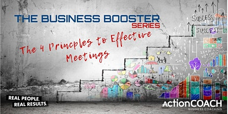 The four principles to effective meetings tickets