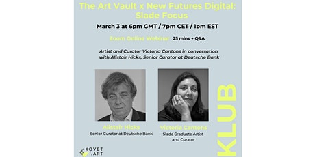 New Futures Digital: Slade Focus- In conversation with Alistair Hicks tickets