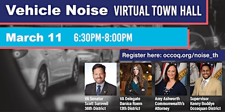 Virtual Town Hall: Vehicle Noise tickets