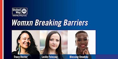 Womxn Breaking Barriers tickets