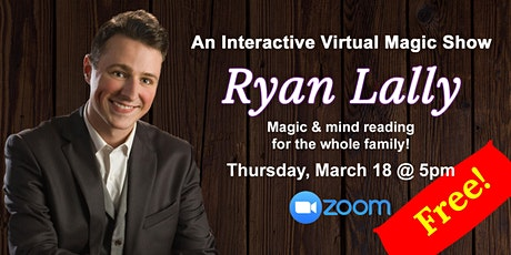 Free Family Magic Show! (Virtual event) tickets