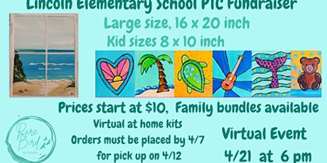 4/21 - Lincoln Elementary School PTC Fundraiser biglietti